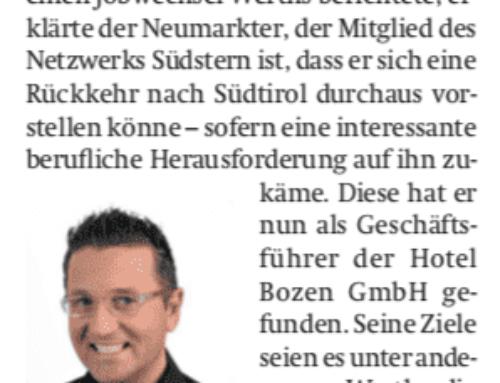 Südtiroler Wirtschaftszeitung 2018